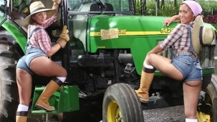 BANGBROS – Big Booty Farmin' Throwback Featuring Isabel Ice & Jordan Ashley