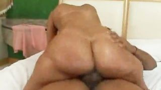 Brazilian Mama Takes A Bump In Her Rump