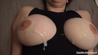 Compilation Of Cum On Tits, Pussy, Ass & Cum Play By Camilla Sweetheart