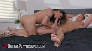 Digital Playground – Busty asian housewife Kaylani Lei loves anal