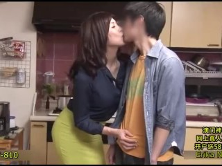 Keep your dick in mom's pussy and win 1 million yen! Cumming is ok!