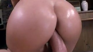 Jamie Jackson bouncing that big perfect ass up and down like crazy