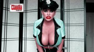 Claudia Marie Big Titty Prison Guard