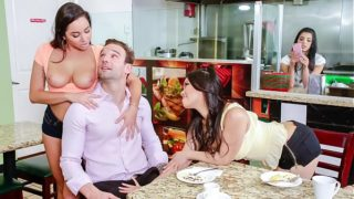 SCAM ANGELS – Wild group sex with Gina Valentina, Karlee Grey and Cindy Starfall