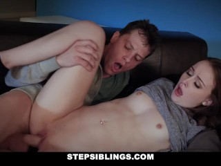 StepSiblings – Danni Rivers Rides Her Step Brothers Cock