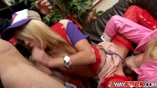3 Way Fuck – French Delivery Girl Chloe Delaure Serves Her Pussy and Ass