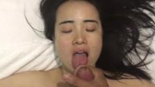 korean vesper lynd footplay bj and monster facial