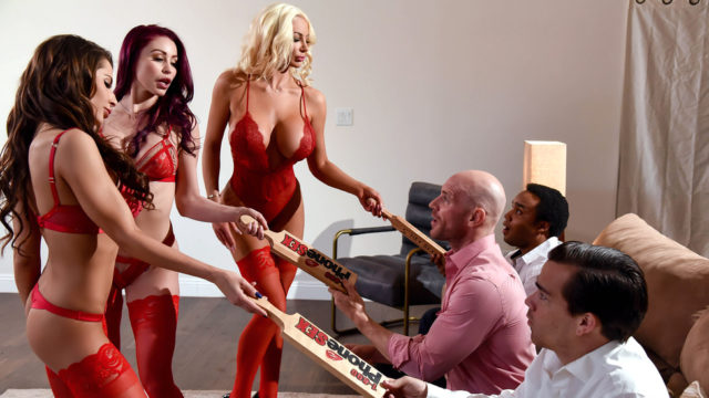 4Share 1 800 Phone Sex: Line 8 – Madison Ivy – Monique Alexander – Nicolette Shea