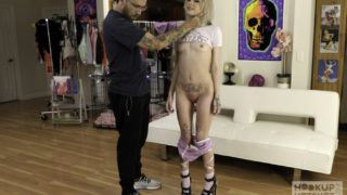 4Share Baby Goth's 1st Porno – Baby Goth