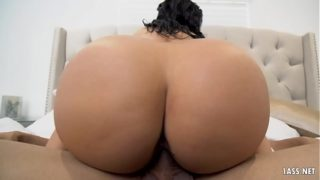 Bubble Butt Latina Misty Quinn Horny as Fuck for White Boyfriend's Dick