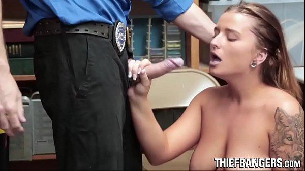 Busty Teen Thief Dakota Rain Fucks Her Way Out Of Trouble