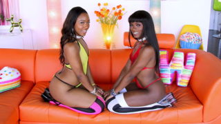 4Share Ana Foxxx – Chanell Heart – Chanell And Ana Are Letting The Drool Flow