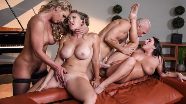 4Share Dinner For Cheats – Angela White – Kagney Linn Karter – Phoenix Marie