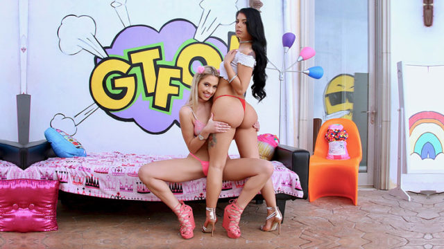 4Share Gina & Khloe Are A Double Threat – Gina Valentina – Khloe Kapri