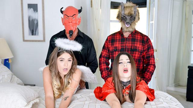 4Share Halloween Hijinks – Lacey Channing – Pamela Morrison
