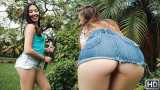 4Share Hose In The Garden – Jessie Wylde