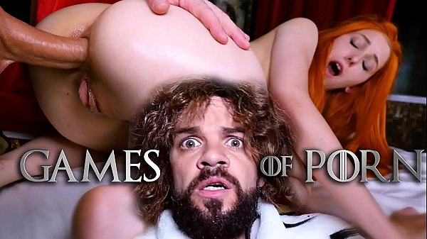 Jean-Marie Corda presents Game Of Porn parody: Just married Lady Sansa assfucked by her midget husband after giving him a deepthroat blowjob