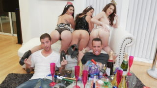 4Share New Years Eve Party – Eden Sinclair – Joseline Kelly – Lily Adams