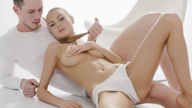 4Share Sensual Ukrainian blondie Nancy A eats cum in hot glamcore fuck – Nancy A
