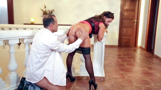 4Share Bella Baby – Sexy Czech pinup minx Bella Baby gets facial in romantic fuck