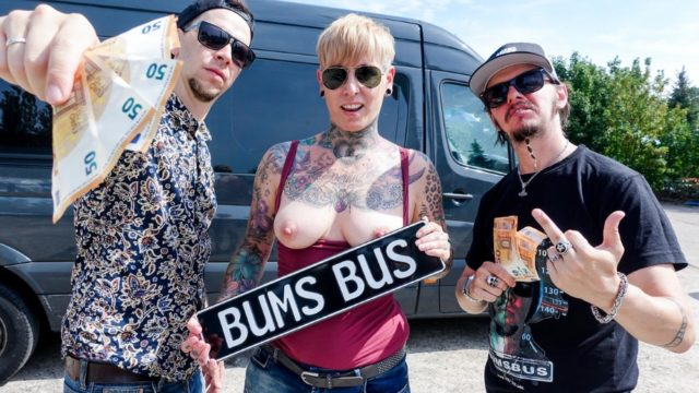 4Share Tattooed German MILF Lady Kinky Cat eats jizz in steamy bus sex – Karenka – Lady Kinky Cat
