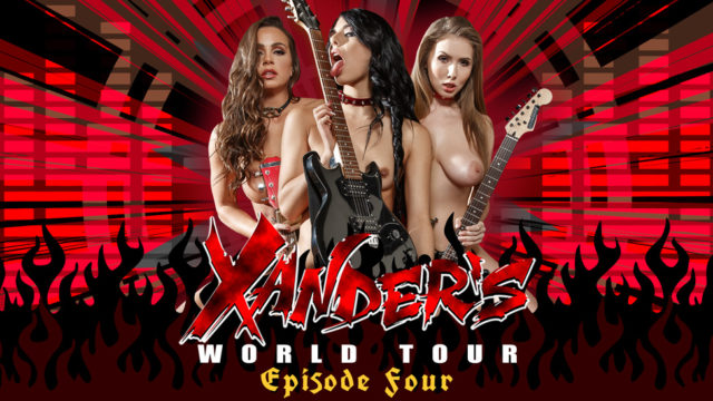 4Share Xander's World Tour – Ep.4 – Abigail Mac – Gina Valentina – Lena Paul