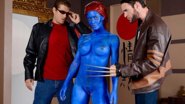 4Share XXX-Men Shagging the Shapeshifter – Nicole Aniston