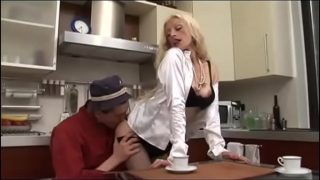 Blondie Milf in desperate needs of a young fresh cock!