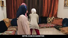 BFFS – Shy Inexperienced Poonjab Girls Fuck In Their Hijabs