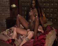 Brunette Black Beauty Rides The Big White Dick Of Stud – Nyomi Banxxx
