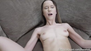 Very First Painful Anal Fuck for Sweet Butterfly