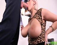 Cougar Takes Hard Cock