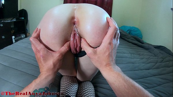 hot h. girl tries ANAL for first time and INSTANT CUM @therealanyajohnson / Andy Savage